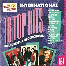 Topphits (Compilation CD, 18 Tracks)