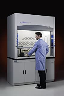 LABCONCO/BUCHLER 110510021 Protector XStream Laboratory Hood with 2 Service Fixtures, 5' Nominal Width, 60