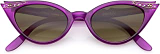 50s Vintage Cat Eye Sunglasses for Womens with...