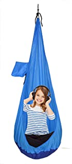 GR Child Sitting Hammock, Swing Chair Hanging Seat Hammock for Indoor and Outdoor Use (Without Cushion