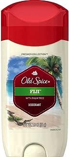 Old Spice Fresh Collection Fiji Scent Desodorante para hombre, 3 onzas, paquete de 3