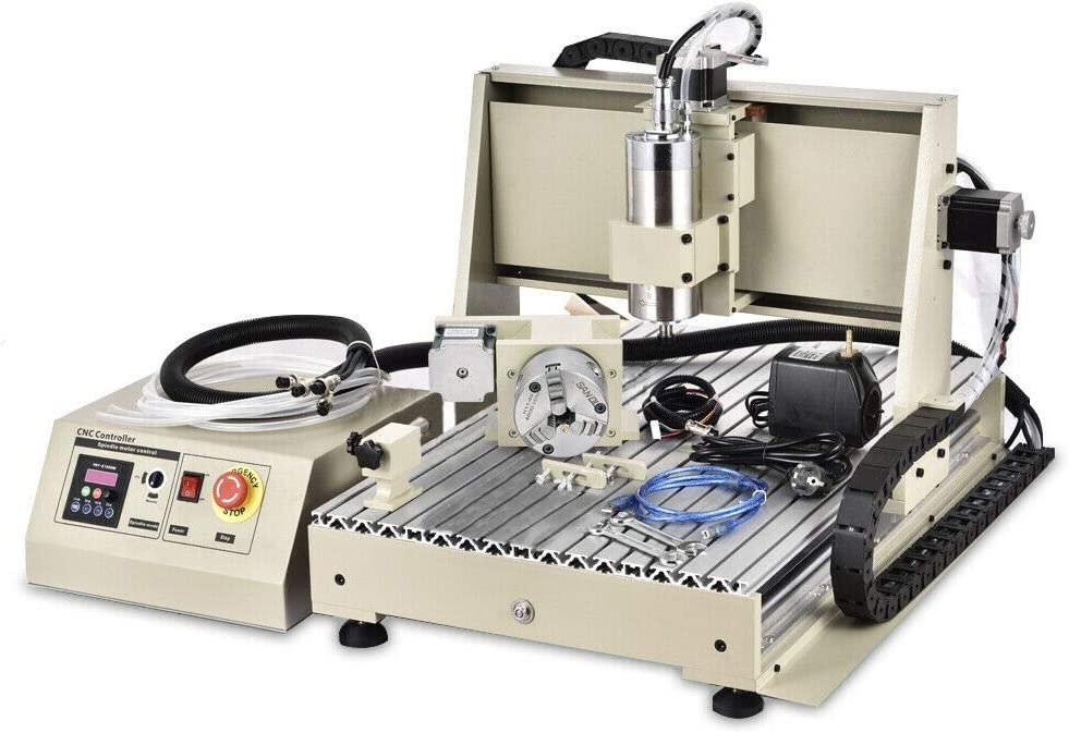 TFCFL 4 Axis 6040 CNC San Francisco Mall Router Mill USB 1500W Surprise price VFD Engraver Spindle