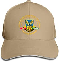 1st Military Intelligence Battalion SVC Ribbon Adjustable Baseball Caps Vintage Sandwich Cap