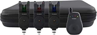 MK Angelsport Multi Sounder Funk Visare 3+1 med 1:1 överföringssats Fishing LED Bell Wireless Box