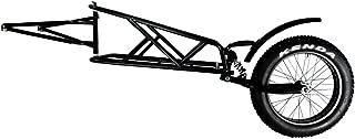 "QuietKat 18QKCT Rear Cargo Trailer, Single Track FatTire Off Road, 14""x 24"" Storage"
