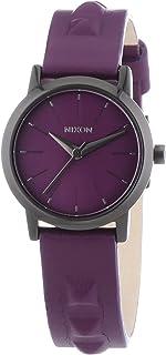 Nixon A398-1812 Ladies The Kenzi Leather Bordeaux Studded Watch