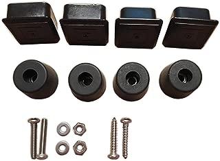 Noa Store Spare Tire Carrier Plug and Bumper Kit for Jeep Wrangler CJ 1976-1986 CJ7 CJ8