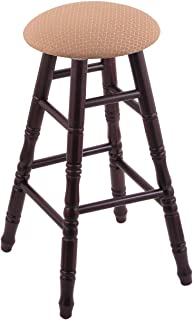 Maple Counter Stool in Dark Cherry Finish with Axis Summer Seat