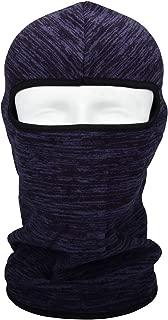 HOPESHINE Balaclava Windproof Ski Mask Beanie Thermal Full Face Mask Motorcycle Helmet for Winter Cold Weather for Men Women (Navy Blue, 1-PACK)
