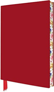 Artisan Notebook: Red - #3