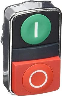 Non-Illum Push Button, 2, I/O, Rectangle
