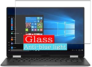Synvy Anti Blue Light Tempered Glass Screen Protector, Compatible with Dell XPS 13 9365 2-in-1 13.3