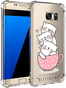 Compatible for Samsung Galaxy Edge case Ultra-Thin Animal series Clear...