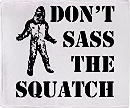 CafePress Dont Sass The Squatch Soft Fleece Throw Blanket, 50