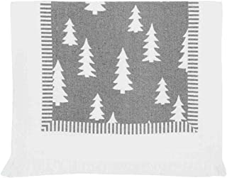 Clayre/&Eef Gästehandtuch Geschirrhandtuch Handtuch Baumwolle Shabby