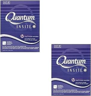 ZOTOS Beauty Salon Quantum Insite Perm Resistant Gray Hair HP-48438 (2 Pack)