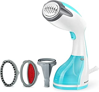 Beautural Steamer for Clothes, 1200-Watt Powerful Handheld Garment Steamers, Wrinkle Remover, Cleaner, 30s Fast Heat-up, Auto-Off, 100% Safe, 260ml High Capacity for Home and Travel