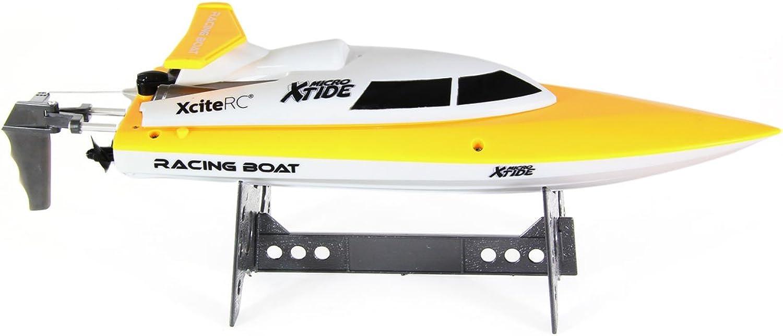 mas preferencial XciteRC Xtide Micro RTR - - - Radio-Controlled (RC) Boats (Color blancoo, Amarillo, Ión de Litio)  servicio considerado