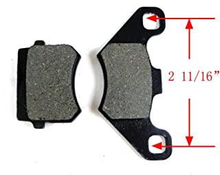 Rear Front Disc Brake Pads Shoes for 50cc 70cc 90cc 110cc 125cc ATV Go kart Quad 4 Wheeler Dune Buggy Sandrail Taotao SunL JCL NST Coolster