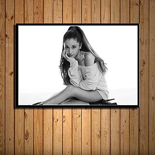EDGIFT2 Ariana Grande Music Star Singer Beauty Canvas Poster Prints Photo Portrait..