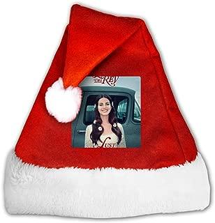 PatrickCSmithd Lana Del Rey Lust for Life Santa Hats Funny Christmas Hat Santa Cap