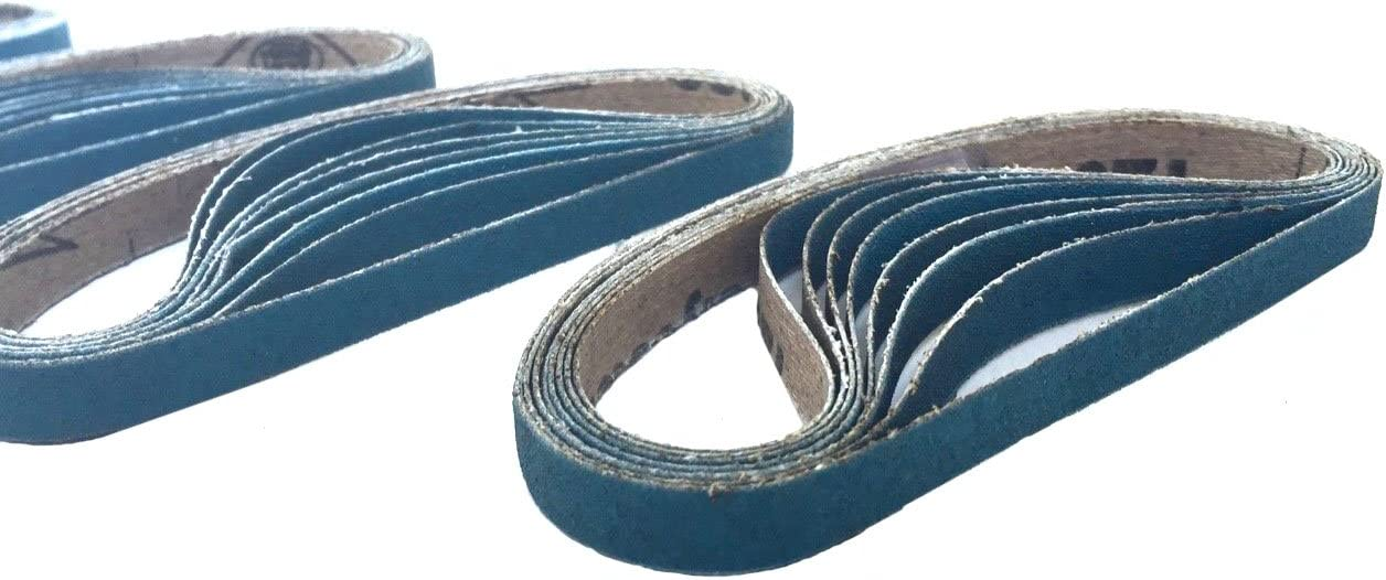 3 Virginia Beach Mall Manufacturer regenerated product 8 Inch X 13 Zirconia Cloth 30 Sanding Pac Air Belts File