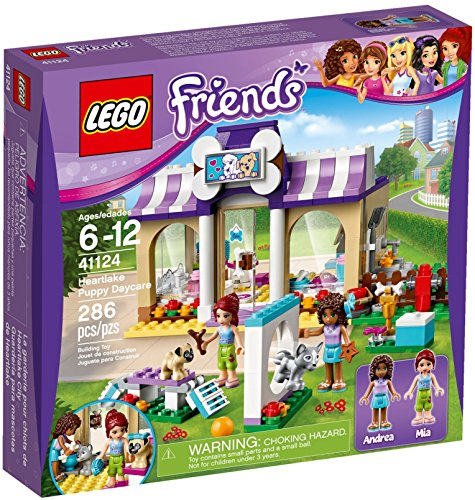 LEGO Friends 41124 Heartlake Puppy Daycare Building Kit (286 Piece) by LEGO