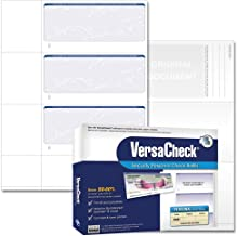 VersaCheck Security Personal Check Refills: Form #3001 Personal Wallet - Blue - Prestige - 250 Sheets