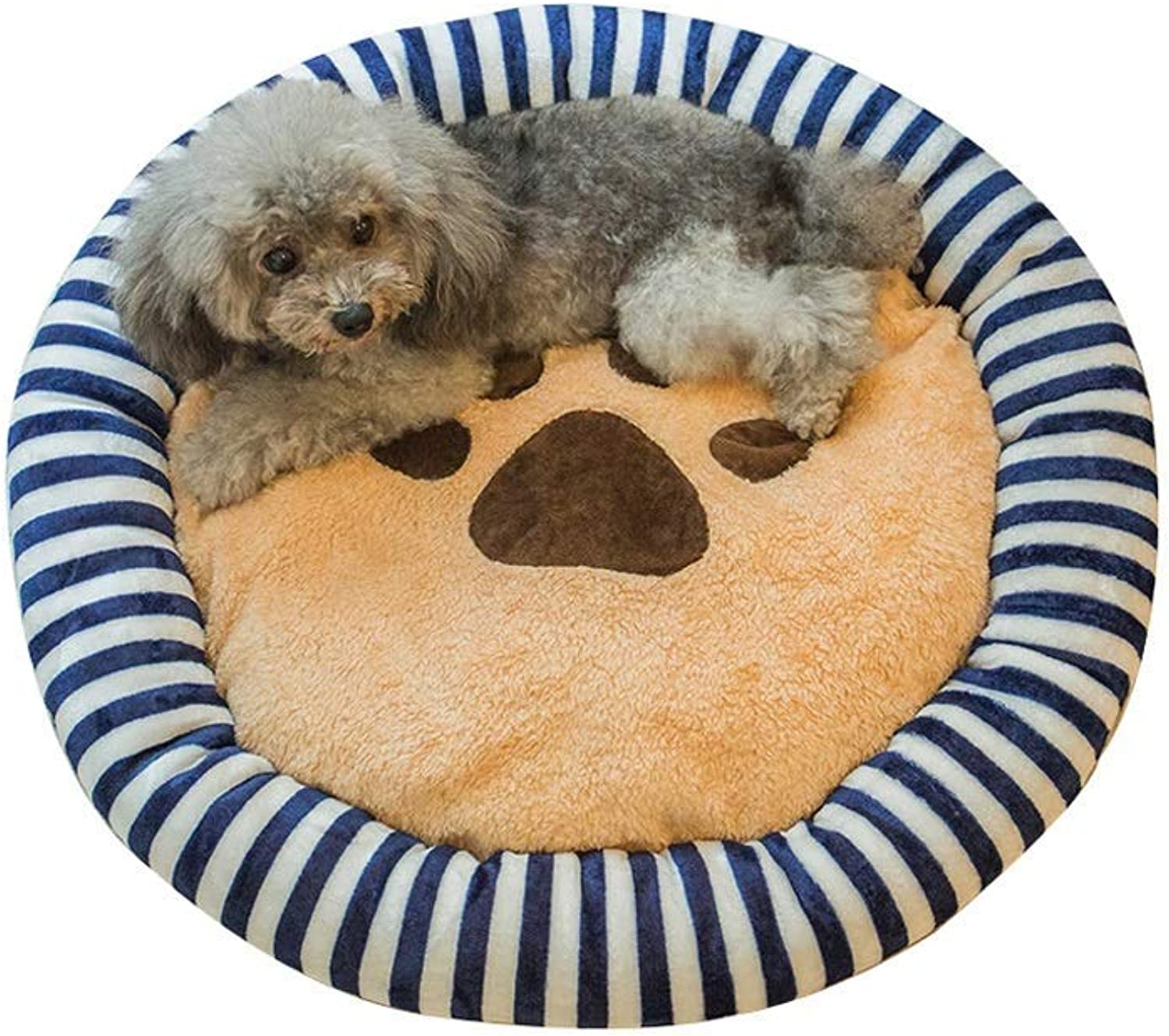 KYCD Dog Mat, Cat And Dog Four Seasons Pet Mat Sofa Bed, Breathable Comfortable Dog Bed (S, M, L) (color   A, Size   L)