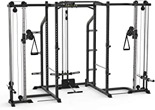ARCHON Power Cage and Attachments   Squat Rack   Power Cage   Power Weight Rack   Power Rack   Bench Press Stands  Powerlifting   Pullups