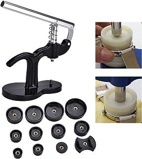 Reparationsverktyg/-set, baklock, manometerlock, urkrimpare, presslock med 12 stämplar, klockreparationsverktyg väggklocko...