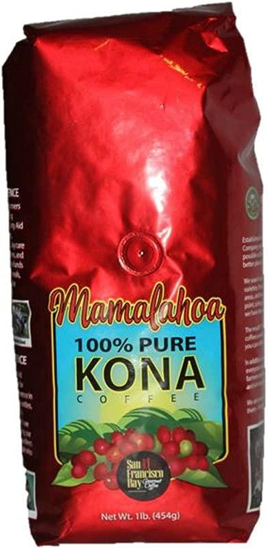 Mamalahoa 100 Pure Kona Coffee Whole Bean From Hawaii