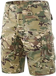 Tactical Men's Combat Shorts Pants Military Camo Airsoft Paintbal Pants
