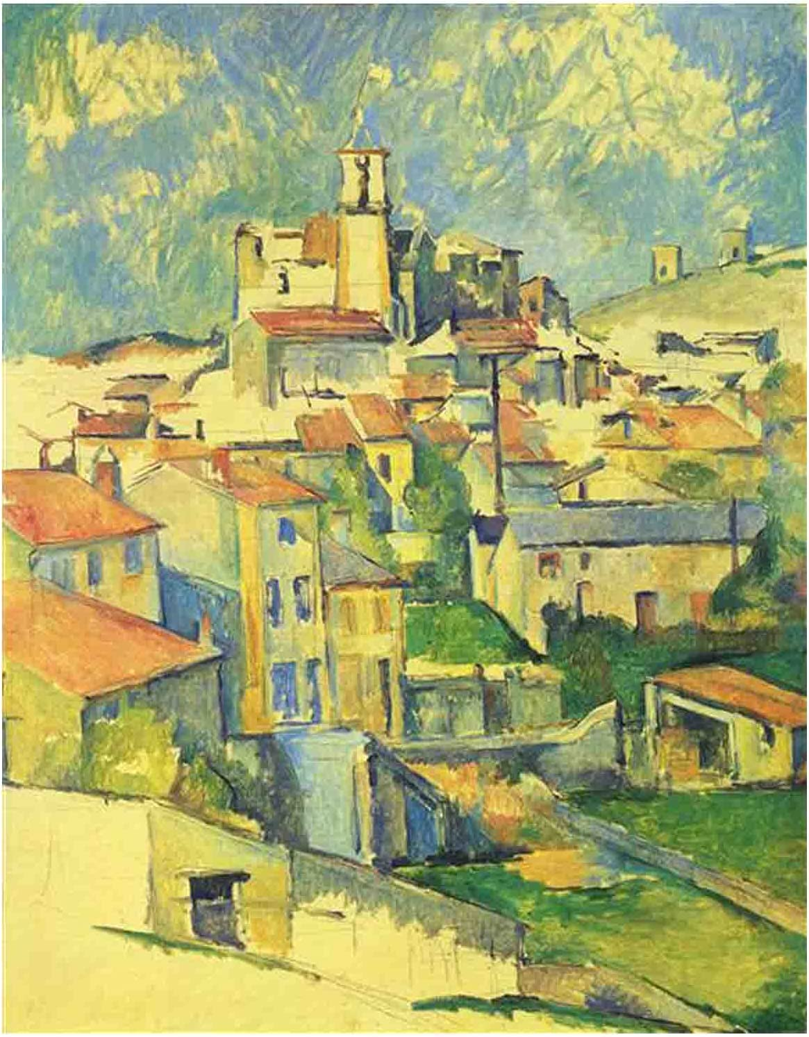 NEW before selling Canvas Wall Art for Bedroom By Cézanne Paul Decor Challenge the lowest price of Japan Gardanne