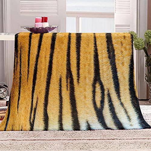 ZSDWGL Manta Manta para sofá Sofá y Cama - Regalos 135 x 200 cm Patrón Animal
