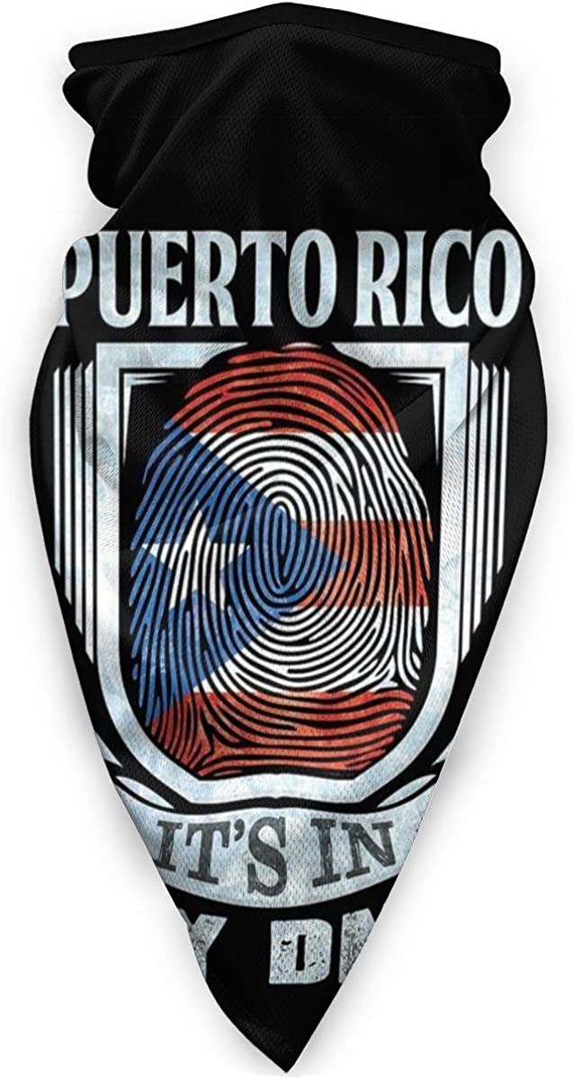 New life Puerto Rico It Is In My DNA Face Half Mask Ranking TOP6 Flag Rican Fac