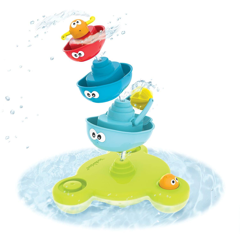 Yookidoo Baby San Jose Mall Bath Toy 7 Piece Set N' Bathtub Stack Fo Ranking TOP1 Spray -