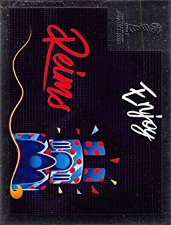 2019 Panini FIFA Women's World Cup France Sticker #18 Reims Foil Mini (Small) Sticker Trading Card