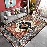 Dykee Alfombra, Persa del Estilo de Alfombra, sofá Dormitorio Mesa de Marruecos Alfombra, Sala de Estudio Estera del Piso, 200x300, tamaño: 200x300, Color: Estilo-1 (Color : Style-1, Size : 180X250)