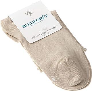 Bleuforêt, Calcetín Bajo - 1 par - Sin elasticos - Sin tejido de rizo - Fine - Velouté