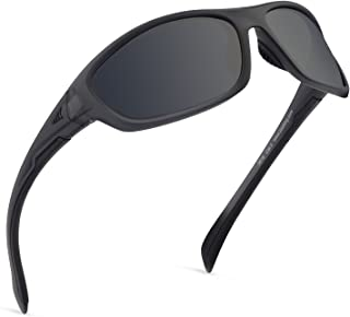 Hiwassee Polarized Sport Sunglasses for Men and Women, Ideal for Driving Fishing Cycling and Running,UV Protection