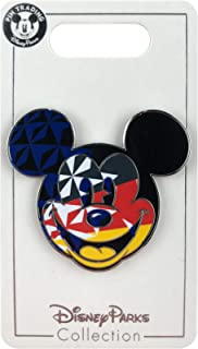Disney Pin - Epcot World Showcase Flags - Mickey Icon - Germany