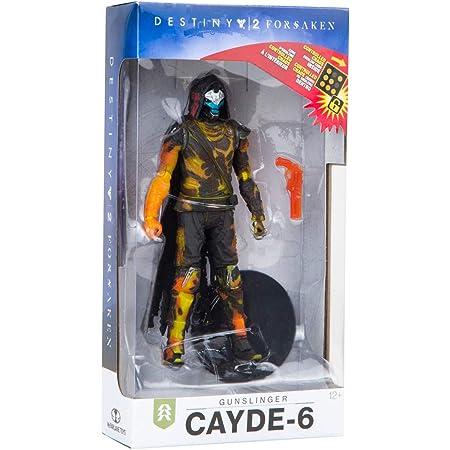 Destiny 2 Forsaken Cayde-6 Gunslinger Golden Gun McFarlane Toy LOOSE NO CODE!
