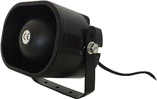 Alarmsirene alarm sirene 230 volt voor alarmsysteem huis tuin bewegingsmelder spatwater beschermd 1,8 meter kabel YMPA UE...