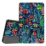 Fintie Hülle für Samsung Galaxy Tab A 10.1 2016 - Ultra Schlank Superleicht Ständer Schutzhülle mit Auto Schlaf/Wach Funktion für Samsung Galaxy Tab A 10,1 Zoll T580N / T585N, Dschungelnacht