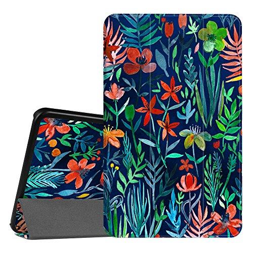 FINTIE Custodia per Samsung Galaxy Tab A 10.1 2016 - Sottile Di Peso Leggero Cover con Auto Sveglia/Sonno Funzione per Samsung Galaxy Tab A 10,1 Pollici SM-T580 / T585, Jungle Night
