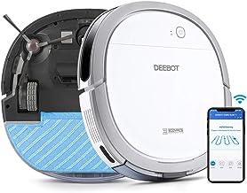 【5.7cm超薄型】ECOVACS(エコバックス)DEEBOT OZMO Slim11 ロボット掃除機 水拭き 薄型 フローリング/畳掃除 除菌率99.26% スマホ連動 Alexa対応 ホワイト ECOVACS直営店限定2年保証