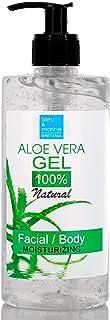 100% naturligt Aloe Vera Gel Ansiktsgel Hårgel Kroppsgel Efter sol Gel Läkande eksem Solskyddsgel Rakhyvelläkning Bristnin...