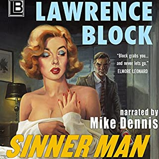 Sinner Man audiobook cover art