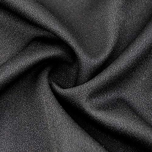Black Tulle Speaker Grill Cloth Stereo Fabric Replacement for Home Speakers, Large Speakers, Stage Speakers and KTV Boxes Repair - 63 x 40 in / 160 x 100 cm